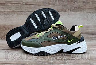 Женские кроссовки Nike Air Max M2K Tekno Green Army