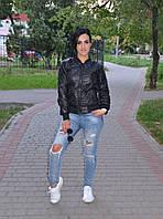 Стеганая женская куртка осенняя, фото 1