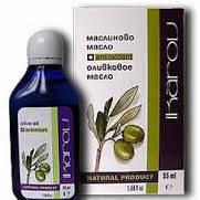 Масло оливковое-косметическое масло применяется в питательной косметике для увядающей кожи(55мл,Икаров)