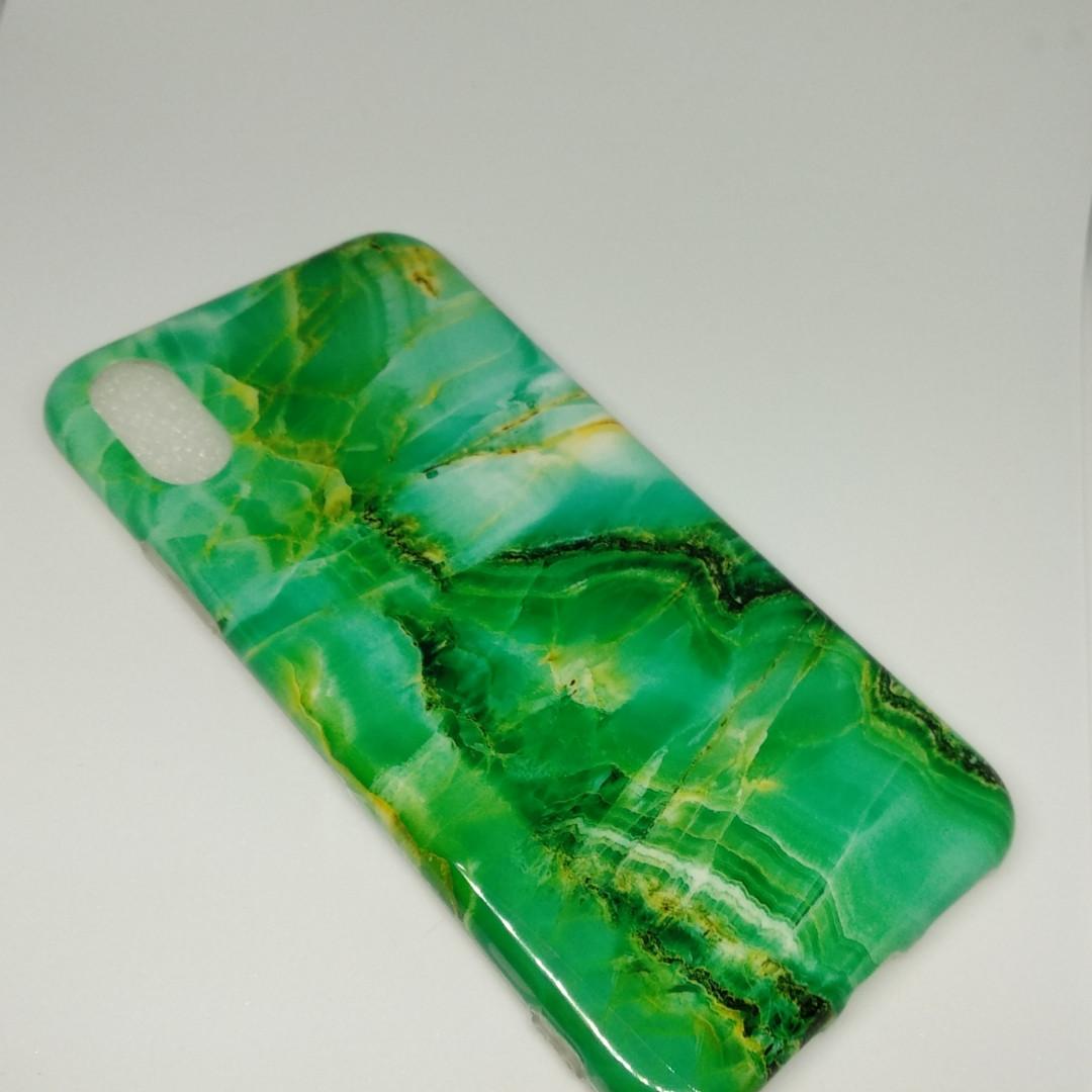 Силиконовый чехол Apple Silicone Case для iPhone X / XS зелёный