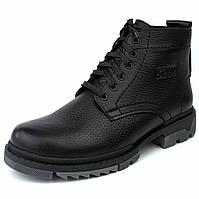 Зимние ботинки ручной работы индивидуально пошита обувь для мужчин из натуральной кожи Ultimate by Rosso, фото 1