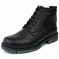 Зимові черевики ручної роботи індивідуально пошито взуття для чоловіків з натуральної шкіри Ultimate by Rosso