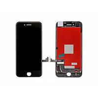 Дисплейный модуль для iPhone 7 черный (LCD экран, тачскрин, стекло в сборе) black H/C
