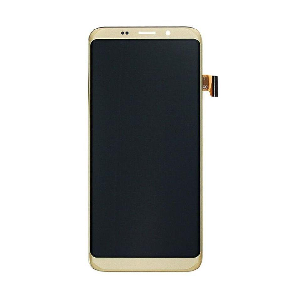 Дисплей для Bluboo S8 с тачскрином золотистый Оригинал