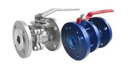 Шаровые краны стальные фланцевые для воды и газа