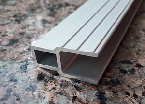 Алюминиевый профиль для пвх лодок | Д образный соединительный