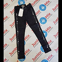 Подростковые джинсовые лосины для девочек оптом F&D