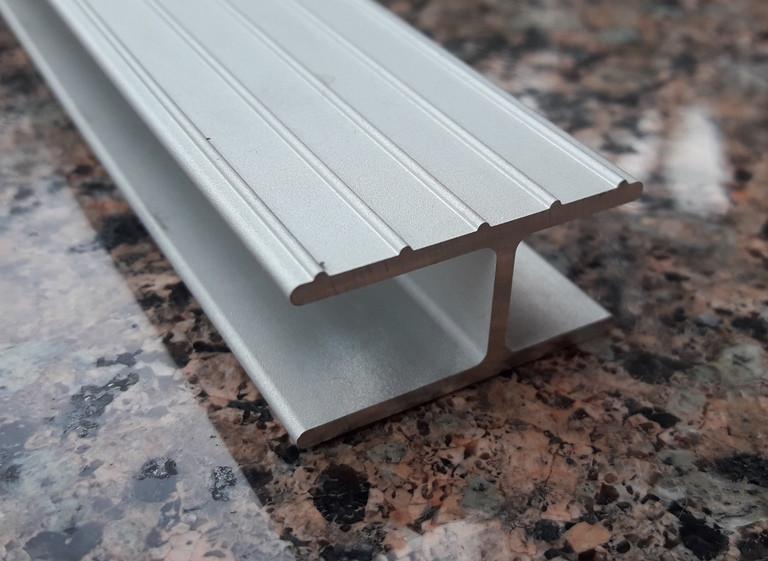 Алюминиевый профиль для днища резиновых лодок | Н образный соединительный