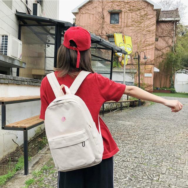 Молодіжний рюкзак з планетою бежевий