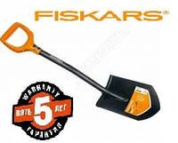 Лопата Fiskars Solid саперка 80 см с усиленной ручкой ✓ Гарантия 5 Лет ✓ 100% Оригинал