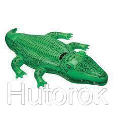 Плотик крокодил Intex 168*86 от 3 лет