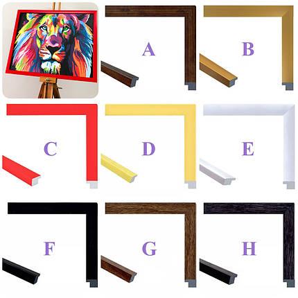 Багетная рамка для картин по номерам 40*50 см, фото 2