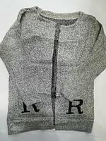Кардиган женский оптом с буквой R универсал 42-48рр. Китай