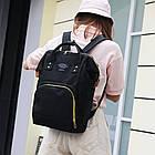 Рюкзак органайзер для мам Living Traveling Share Black, фото 5