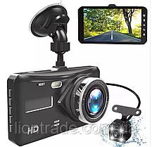 """Видеорегистратор BlackBox DVR T672, 4,3"""", Full HD на 2 камеры"""