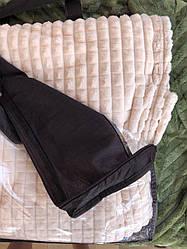 Плед покрывало полоска-квадратик из бамбукового волокна полуторка 160*200 разные цвета (код 721-25)