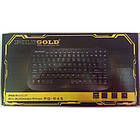 USB проводная компьютерная клавиатура KEYBOARD PG-945 | черная клавиатура для ПК, фото 3