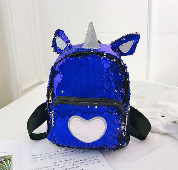 Рюкзак синий Единорог