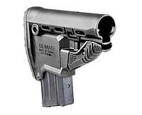 GLMAGB Приклад FAB для M4 з тримачем магазину, чорний (без буферної труби)