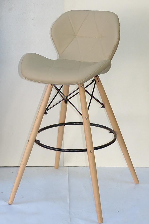 Барный стул Invar, бежевый