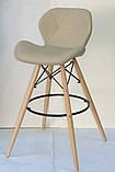 Барный стул Invar, бежевый, фото 2