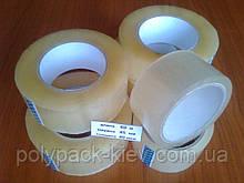 Скотч 60м./45мм./40мкм. упаковочный, прозрачный, прочный, клейкая липкая лента упаковочная купить Киев
