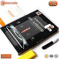 Защитное стекло Mocolo LG V30 / V30+ Nano Optics UV Liquid Tempered Glass 3D (Clear), фото 1