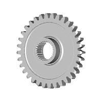 Фланец зубчастого колеса  Д04-023 Б