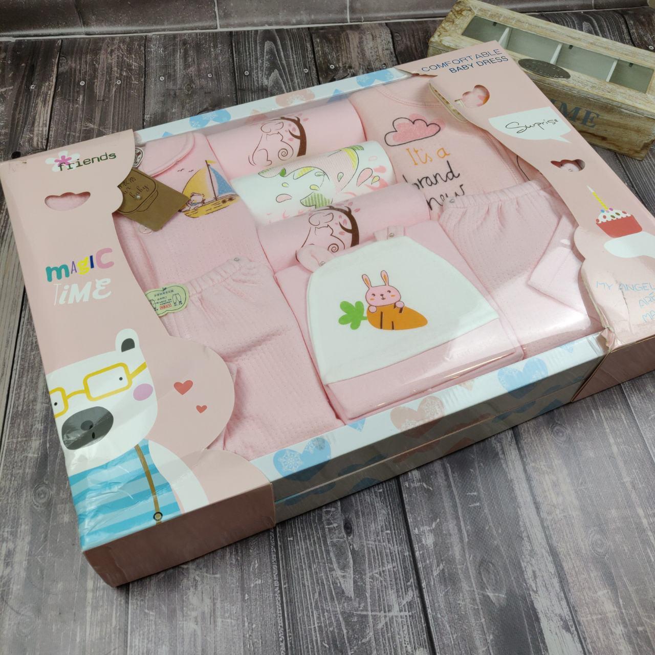 Подарочный набор для новорожденного (роз) (уни)
