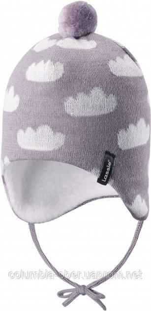Зимняя шапка-бини для девочки Lassie by Reima Neemi 718768-9321. Размеры 38/40 - 50/52.