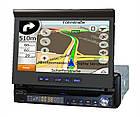 Автомагнитола 1DIN DA-766 с выезжающим экраном | Автомобильная магнитола + пульт управления, фото 4
