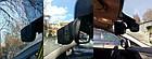 Автомобильный Видеорегистратор зеркало DVR A1 с двумя 2 камерами, фото 4