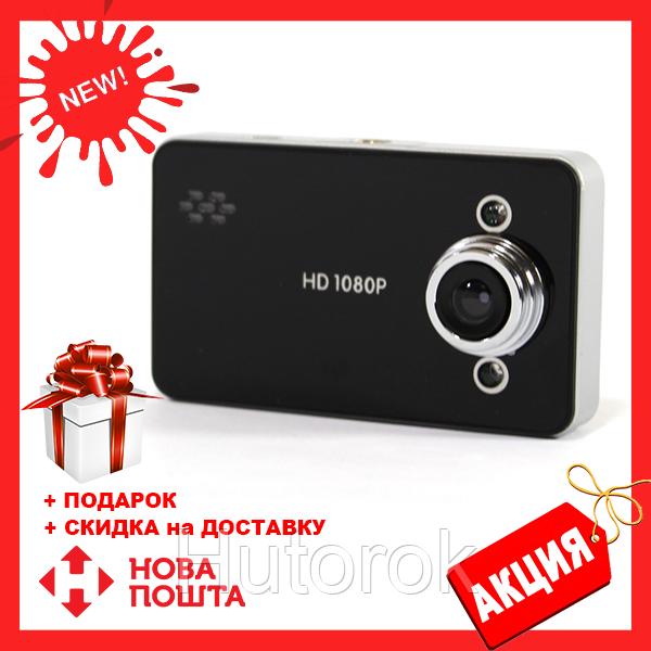 Автомобильный видеорегистратор DVR K6000 B без HDMI   качественный регистратор для авто
