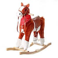 Лошадка качалка музыкальная Huada Toys (W08)