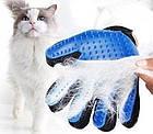 Перчатка для вычесывания шерсти животных True Touch, фото 8