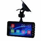 Автомобильный видеорегистратор H528 2 камеры | авторегистратор | регистратор авто, фото 4