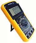 Мультиметр тестер вольтметр амперметр DT 9205A, фото 6