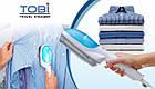 Ручной отпариватель для одежды Tobi steam brush, фото 4