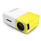 Проектор портативный мультимедийный с динамиком Led Projector YG300, фото 2