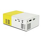 Проектор портативный мультимедийный с динамиком Led Projector YG300, фото 6