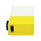 Проектор портативный мультимедийный с динамиком Led Projector YG300, фото 8