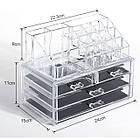 Акриловый органайзер для косметики Cosmetic Storage Box, фото 7