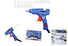 Термопистолет клеевой для силиконового клея Xunlei XL-E20 20W | Пистолет для клея, фото 5