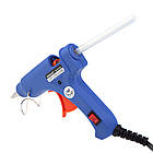 Термопистолет клеевой для силиконового клея Xunlei XL-E20 20W | Пистолет для клея, фото 6