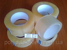 Скотч упаковочный 60м./45мм./38мкм. прозрачный, прочный, клейкая лента липкая, упаковочная купить Киев