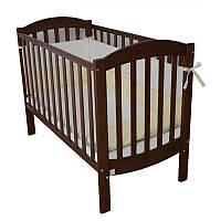 Детская кроватка Верес Соня ЛД-10 Орех 10.1.1.1.03