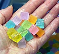 Шармики для слаймов сахарные кубики (3 шт.) – для украшения слайма, slime charms, шарм в слайм, фото 1