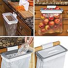 Мусорное ведро Attach-A-Trash | навесной держатель мешка для мусора, фото 10