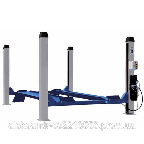 ОМА 521 - Подъемник четырехстоечный электрогидравлический г/п 3500 кг для ремонта