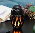 Беспроводная колонка Flame Atmosphere Speaker с пламенной подсветкой, фото 3